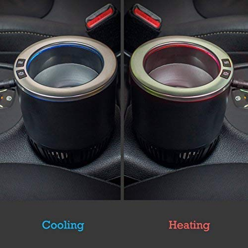 Car Cup Holder Insert That Keeps Drinks Warm Or Cold