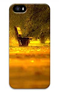 Lonely Bench 2 Cover Case Skin for iPhone 5 5S Hard PC 3D