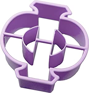 greek letter phi cookie cutter 3 inches