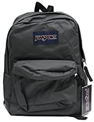 JANSPORT SUPERBREAK BACKPACK SCHOOL BAG - Forge Grey