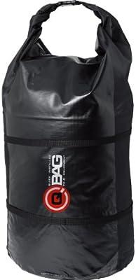 Unisexe Toute lann/ée QBag Sac arri/ère Moto Sac de Moto Poche arri/ère//Roule de Bagage /étanche 50 litres Noir Multipurpose