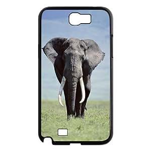 C-Y-F-CASE DIY Design Cute Wild Elephant Animal Pattern Phone Case For Samsung Galaxy Note 2 N7100