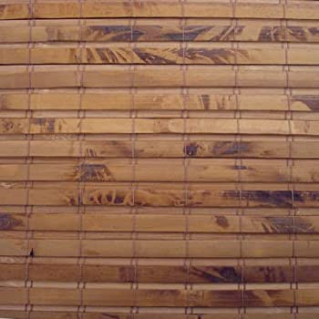 """Woven Wood Roman Shades, 28W x 68H, Hatteras Camel, Any size 18"""" to 72 wide and 24"""" to 72 High"""