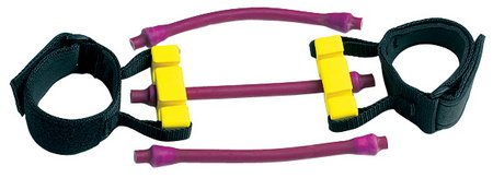 Lifeline Pro Lateral Resistor, Replacement Tube Only, 20 Pound Resistance Band, Purple (30376) ()