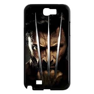 ANCASE Diy Phone Case Wolverine Pattern Hard Case For Samsung Galaxy Note 2 N7100