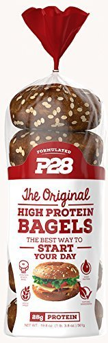 P28 High Protein Bagel  100  Natural  6 Bagels