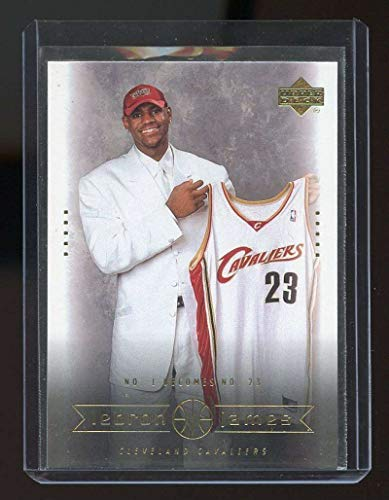 2003 Upper Deck #9 LeBron James Cleveland Cavaliers Rookie Card- Mint Condition Ships in New Holder