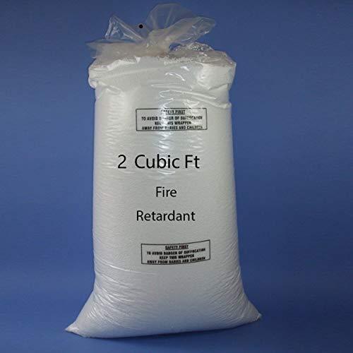 rucomfy Bean bags Top Up Bead Polystyrene Bean Bag Filling 2-10 cubic feet 6 cubic feet