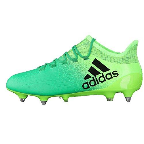 Verde core Green De Black 1 verbas negbas Sg Solar Bota versol Fútbol X 16 Adidas wqCzxPgT