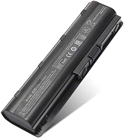 Replace with HP Battery Spare 593553-001 MU06