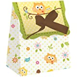 Creative Converting Baby Shower Happi Tree 12 Count Die Cut Favor Bags