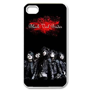 IPhone 4,4S Phone Case for Black Veil Brides pattern design