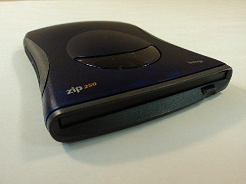 iOmega Zip 250 External Drive 250MB Blue/Gray AC Powered Z250USBPCM