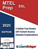 MTEL English as a Second Language  (54) Certification Practice tests with detailed explanations. 10-Test Bundle with 1000 Unique Test Questions