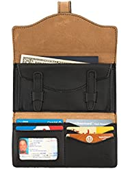 Saddleback Leather Long Trifold Wallet - 100 Year Warranty