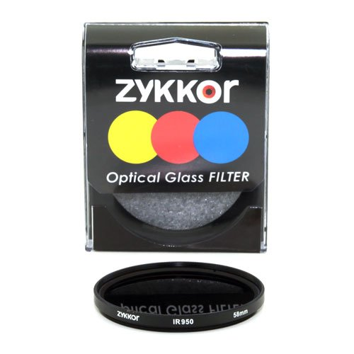 Zykkor 58mm 950nm IR95 Infrared IR Filter by Zykkor