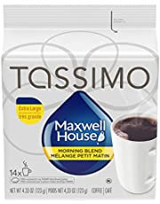 Tassimo Maxwell House Morning Blend Coffee Single Serve T-Discs, 14 T-Discs