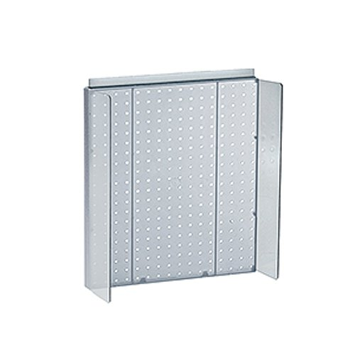 New Retails Blue Pegboard Powerwing Display 16''w x 20.25''high by Pegboard Powerwing Display