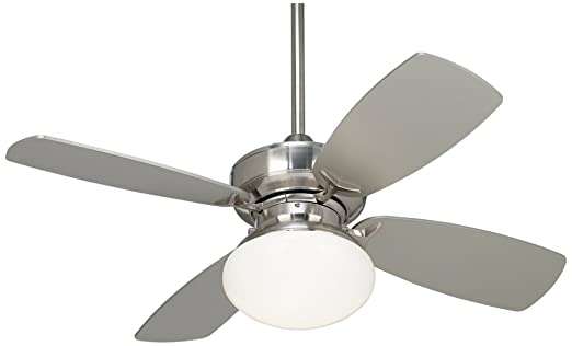 36 Casa Vieja Outlook Brushed Nickel Ceiling Fan