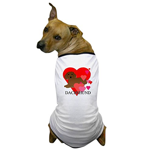 [CafePress - Dachshund Dog T-Shirt - Dog T-Shirt, Pet Clothing, Funny Dog Costume] (Funny Weiner Dog Costumes)