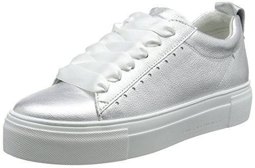 Donna Big Sohle Und Silber Sneaker Schmenger light Kennel Silver Weiß Schuhmanufaktur wUqAanH