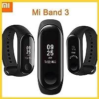 """Xiaomi Mi Band 3 - Activity tracker con monitoraggio della frequenza cardiaca [Versione EU], display touch OLED da 0,78"""""""