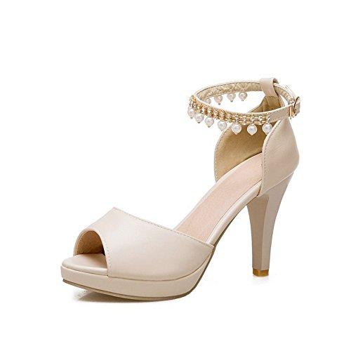 oras heelsWomen Bajos Alto Sandalias Toe Peep Se Zapatos LI Zapatos Verano Chanclas Sandalias BAJIAN qvtf8t