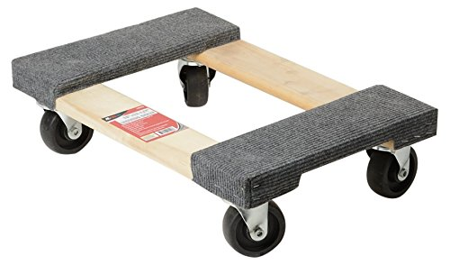 ATE Pro. USA 40120 Furniture Dolly 18'' x 12'', 3.5'' Height, 12.25'' Width, 18'' Length
