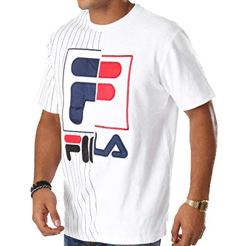 Aiden Shirt Fila White T Homme 684410 1qwSf5SPz