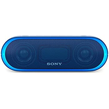 Sony XB20 Portable Wireless Speaker with Bluetooth, Blue (2017 model)