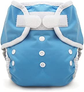 product image for Thirsties Duo Wrap, Ocean Blue, Size One (6-18 lbs) (Discontinued by Manufacturer)