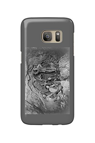 Coeur Dalene  Idaho   Chance Mine Lead Mining   Vintage Photograph  Galaxy S7 Cell Phone Case  Slim Barely There