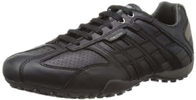 Geox Uomo Snake - Zapatillas para hombre, Black 999, EU 42 (UK 8)