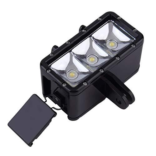 3 Xiaomi Yi 30m Underwater Light Waterproof Diving LED Video Spot Light Lamp Mount Buckle Screw Strape Kit for GoPro Hero 4 3