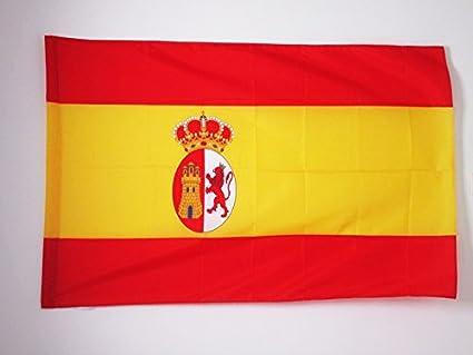 BANDERA de la RESTAURACIÓN BORBÓNICA EN ESPAÑA 1785-1931 90x60cm para palo - BANDERA ESPAÑOLA