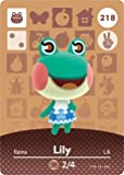 Lily - Nintendo Animal Crossing Happy Home Designer Amiibo Card - 218