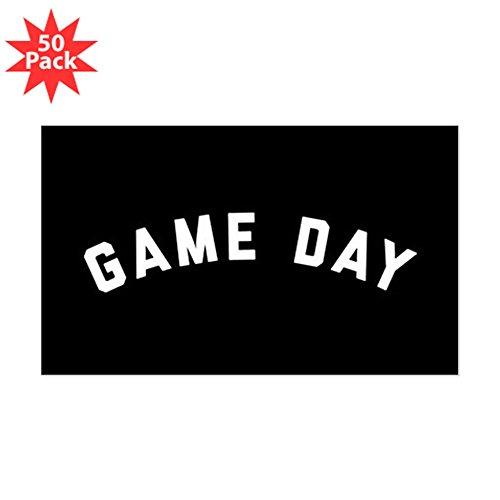 CafePress - Game Day - Sticker (Rectangle 50 pk) by CafePress