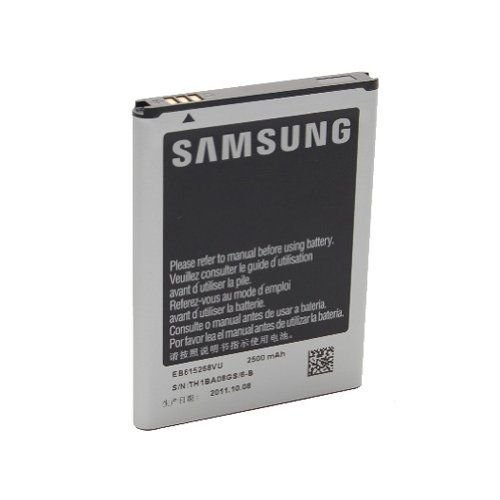 Battery Samsung Galaxy Note, GT-I9220, GT-N7000, GT-N7000 Galaxy Note Eb615268vu 2500 Mah - Non-Retail Packaging - Silver