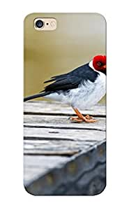 Case Provided For Iphone 6 Plus Protector Case Crested Cardinal Phone Cover With Appearance