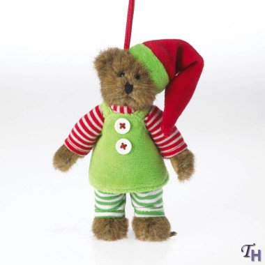 Boyds Bears Lil' Elvie Ornament