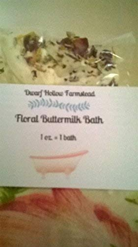Handmade Floral Buttermilk Bath Soak