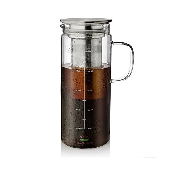 Cafetera Cold Brew de BTaT   Letras y Latte - Libros en español y café