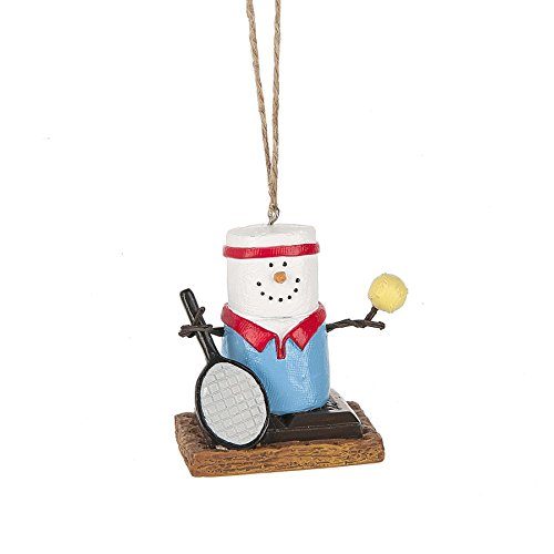 2017 S'mores Original Tennis Player Ornament