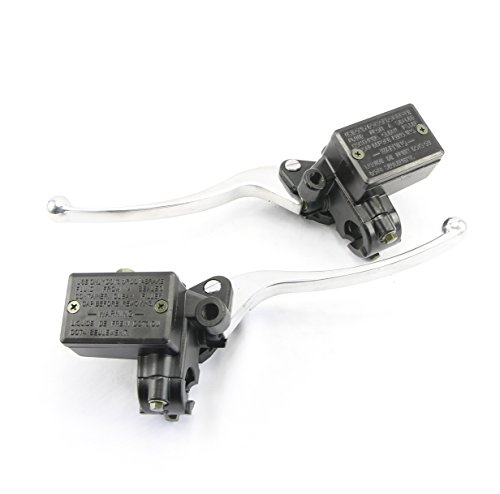 Honda Motorcycle Hydraulic Brake and Clutch Master Cylinder Set - Front Mount -