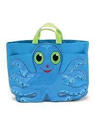 Melissa & Doug Sunny Patch Flex Octopus Beach Tote Bag