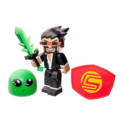 Tube Heroes 2.75 inch Action Figure - Captain Sparklez with Accessories