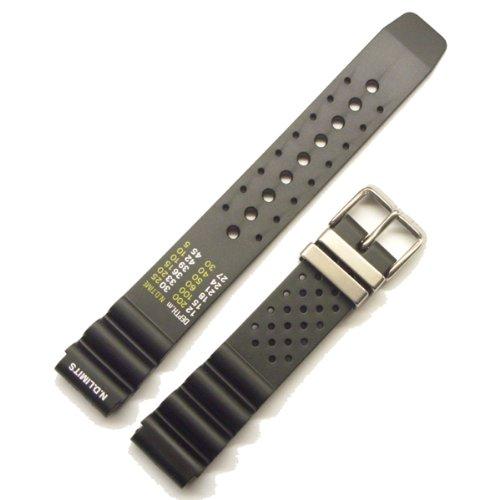 Morellato Lederarmband für Herrenuhr BOMBER schwarz 20 mm A01U0359198019CR20