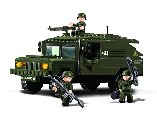 Sluban M38-B9900, Army Hummer - 191 building bricks