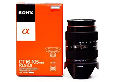 Sony SAL16105 16-105mm f/3.5-5.6 Wide-Range Zoom Lens by Sony