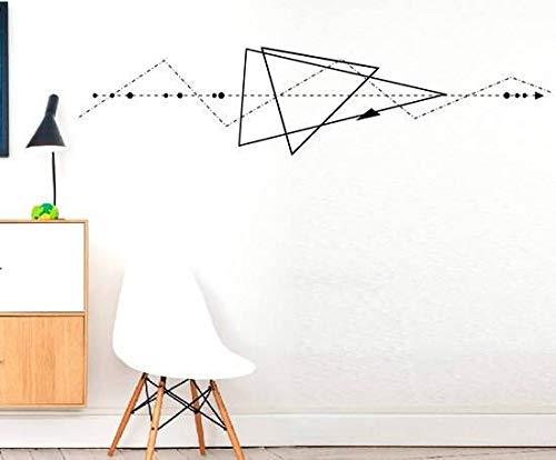 pegatinas de pared tortugas ninja Triángulo geométrico ...